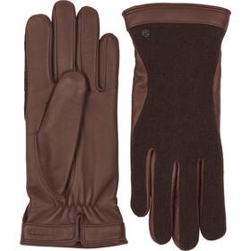 Hestra Saga Handsker, brun/grå